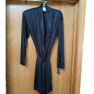 Natori Negligee Basic Wrap, Black